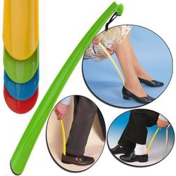 New Shoe Horn Extra Long Plastic Boot Mobility Easily Slip O