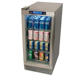 EdgeStar OBR900SS Outdoor Beverage Refrigerator 84 Can Stain