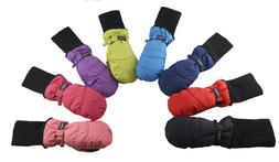 SnowStoppers Original Extra-Long Cuff Nylon Mittens for Ages