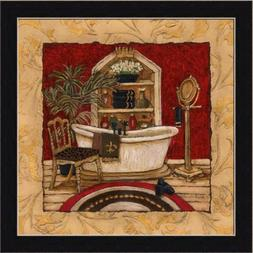 New Orleans Spa Luxe II by Charlene Olson Gold Bathroom Deco