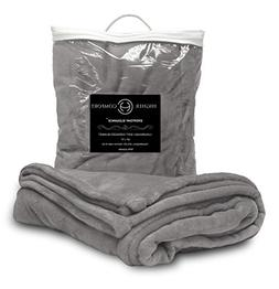 Higher Comfort Oversized Luxuriously Soft Throw Blanket - Gl