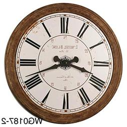 30-inch High-end Oversized Vintage Style Wall Clock, Antique