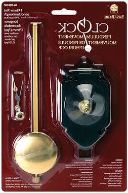 Small Pendulum Clock Movement With Hands & Sweep Hand-For 3/