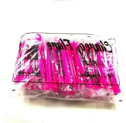 Pink Extra Long Individually Wrapped Hookah Hose Mouth Tips