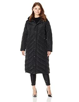 Madden Girl Women's Plus-Size Long Maxi Puffer In Plus Sizes