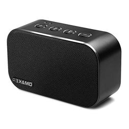 Portable Bluetooth Speakers, Omaker M7 6W Dual-Driver Mini S