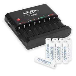 ANSMANN Powerline 8 AAA & AA Battery Charger for AAA, AA Rec