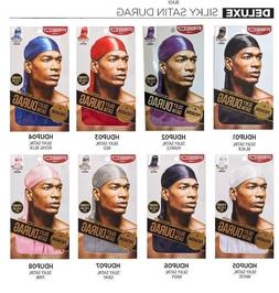 RED BY KISS Premium Silky Stain DURAG Extra long tails 1 EA