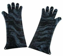 Prepology Set of 2 Extra Long Silicone Gloves For Cooking