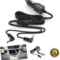 Pwr+ Extra Long 11 Ft Car-Charger for Philips Portable Dvd P