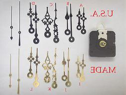 Takane Quartz Clock Movement Mechanism Kit, Choose your hand