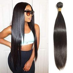 26 Inch Remy Human Hair Bundle Unprocessed Long Straight Vir