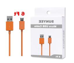 SUNYEE  6 Ft. Replacement USB Cable for Kindle, Kindle Touch