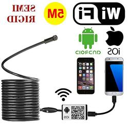 rigid wireless wifi endoscope borescope