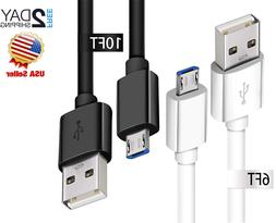 Samsung Galaxy S7/S6 Extra Long Micro USB Fast Charging Cabl