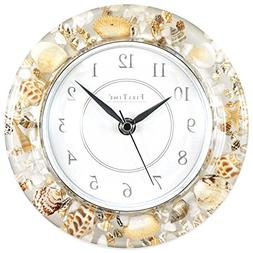 Beautiful Sands of Time Wall Clock, Coastal Style -Bettli