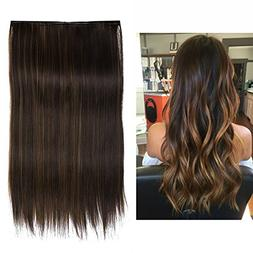 "SARLA Secret Extension Long 22"" Straight Halo Hair Extension"