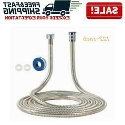 Shower Head Hose Extra Long Stainless Steel Bathroom Handhel