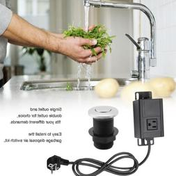 Sink Top Air Switch Kit Garbage Disposal Part Built-Out Adap