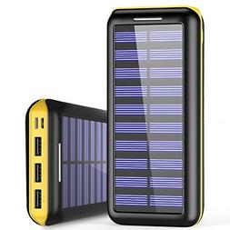 Solar Charger WOOYHN 24000mAh Battery Pack High Capacity Sol