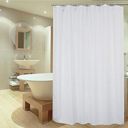 UFRIDAY Shower Curtain Liner 75 Inch Long, Fabric Shower Cur