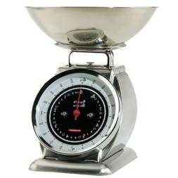 Typhoon Stainless Steel Bella Mechanical Kitchen Scale, Chro