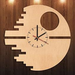 Star Wars Eco Friendly Wood Wall Clock - Get unique home roo