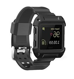 Kades Super Cool Dustproof Soft Silicone Sport Watch Band wi
