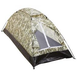 Survival Gear Digital Camo Extra-Long 1-Person Tent Camping