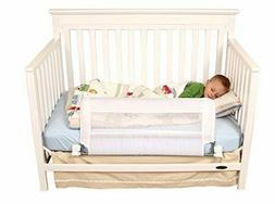 Regalo Swing Down Extra Long Convertible Crib Toddler Bed Ra