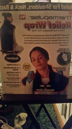 As Seen on TV Thermapulse Relief Wrap, Heat Therapy Wrap, Bl