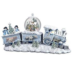 Thomas Kinkade Snowfall Express Light Up Musical Snowman Sno