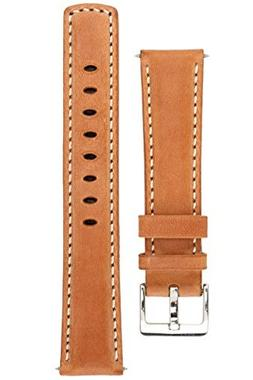 Signature Traveller 22 mm Wood with white extra-long watch b