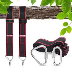 Tree swing hanging kit, Tree Swing Straps for Outdoor, 10ft
