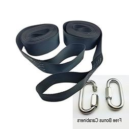 Tree Swing Hanging Kit Straps  Hold 5000 LBS Extra Long 10ft