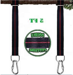 Tree Swing Hanging Straps Kit Holds 2400 Lbs 5 Ft Extra Long