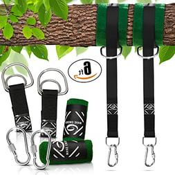 Tree Swing 6FT Straps Bundle by Wave-Energy – Easy Install
