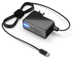 UL Listed Extra Long 6.5 Ft AC Adapter 2.1A Rapid Charger fo