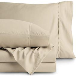 Bare Home Premium 1800 Ultra-Soft Microfiber Sheet Set Full