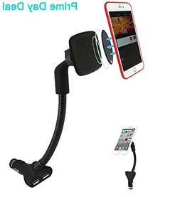 Airena Cigarette Lighter Cell Phone Holder for Car,3.4A Phon