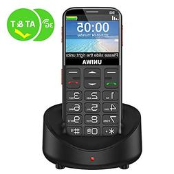 UNIWA Unlocked Cell Phone 3G Senior Cell Phone WCDMA GSM Cel