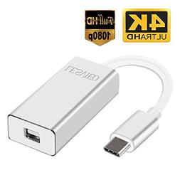 USB 3.1 Type C to Mini Display Port Adapter–Easily use a S