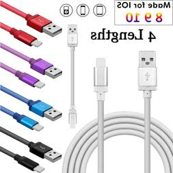 USB Cable For Apple iPhone 5 6S 7 Plus iPad Air Fast Data Ch