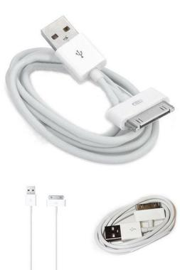 Iafand USB Sync Cable Charger Cord Data for iPhone 4 4S iPod