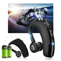 V9 Wireless Bluetooth Extra long Call Handsfree Headset Head