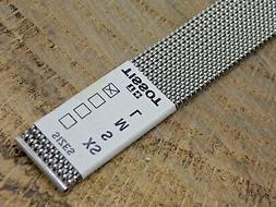 Vintage NOS Unused Tissot Expansion Watch Band 18mm Stainles