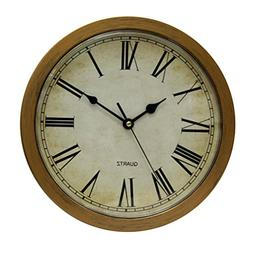 Wall Clock, Home Use Plastic Wall clock With Secret Compartm