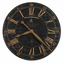 Uttermost 'Bond Street' Wall Clock, Size Medium - Black