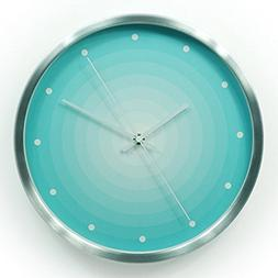 WerFamily GEEKCOOK Wall Clock, 12-Inch, Silent Non-ticking,