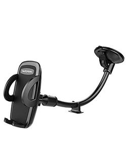 Mpow 073AB Windshield Car Phone Mount, Cell Phone Holder for